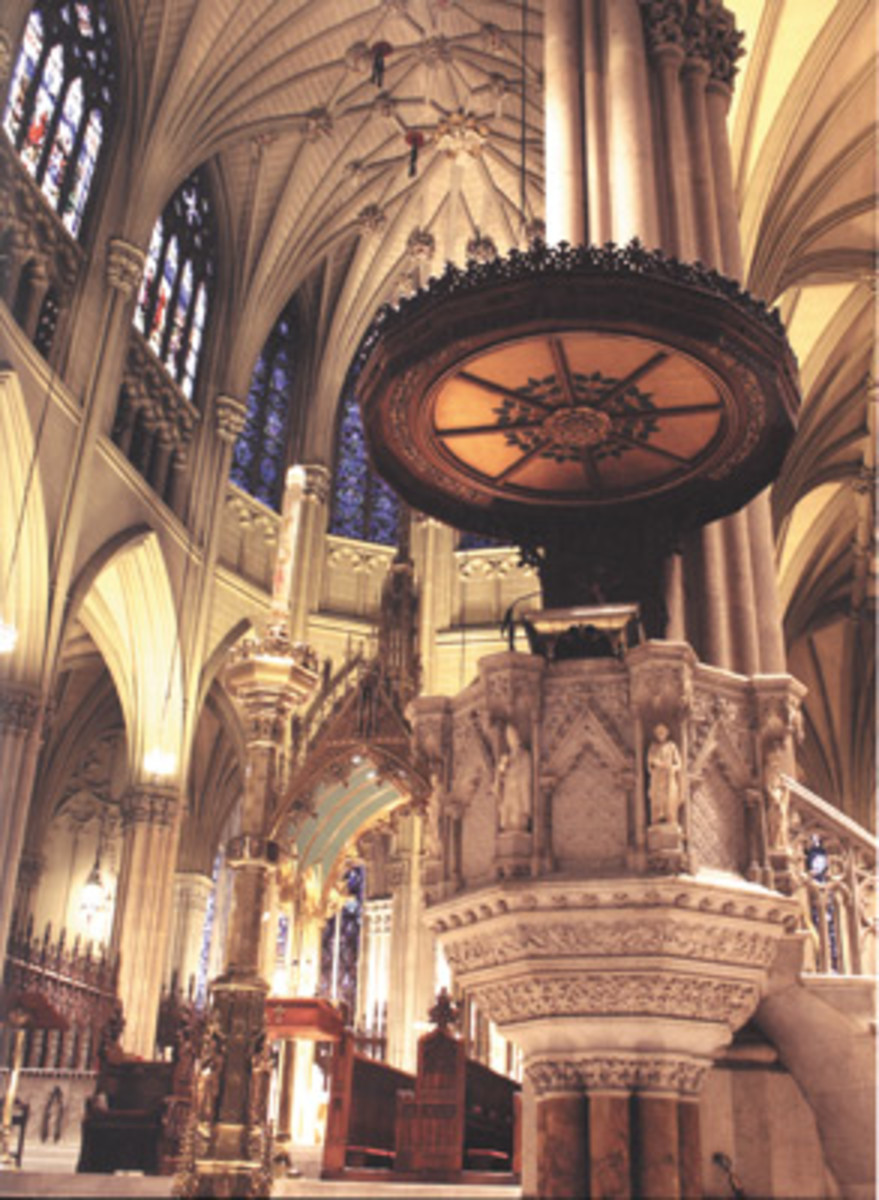 Liturgical art and architecture in Saint Patrick's Cathedral