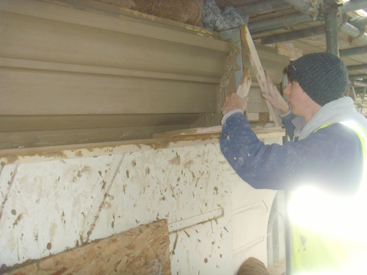 Cornice run-in-situ. Image courtesy of Vicat