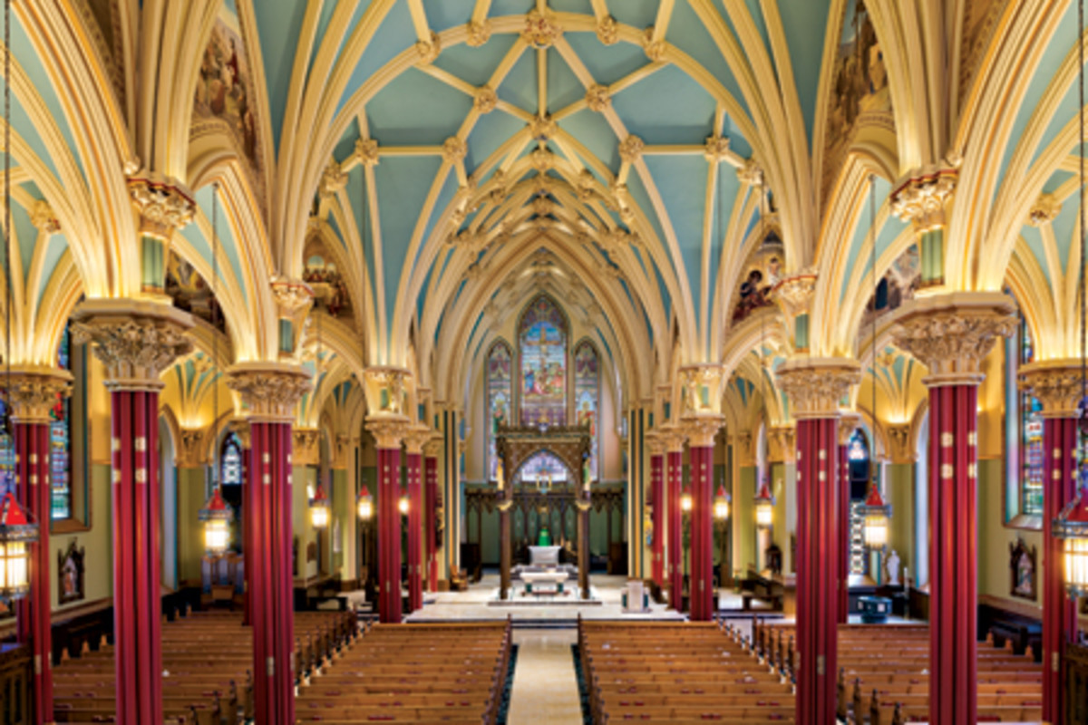 Canning Studios Cited For Cathedral Of St Patrick