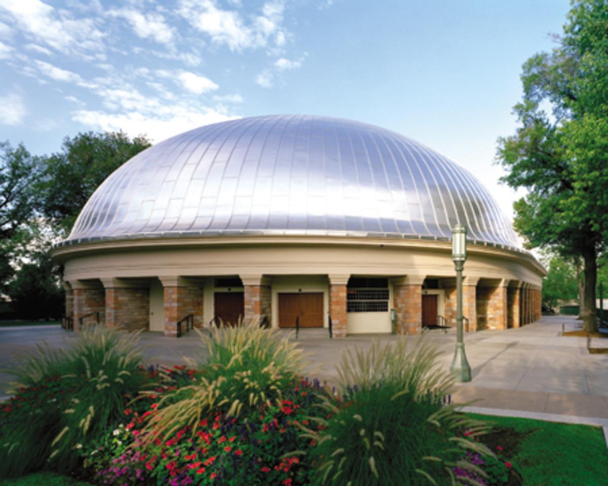 the Salt Lake tabernacle