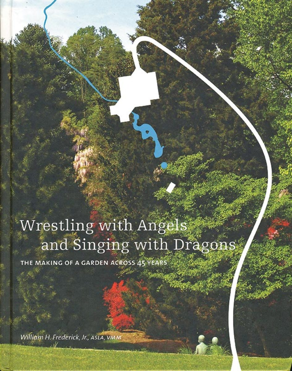 wrestling with angels garden design book