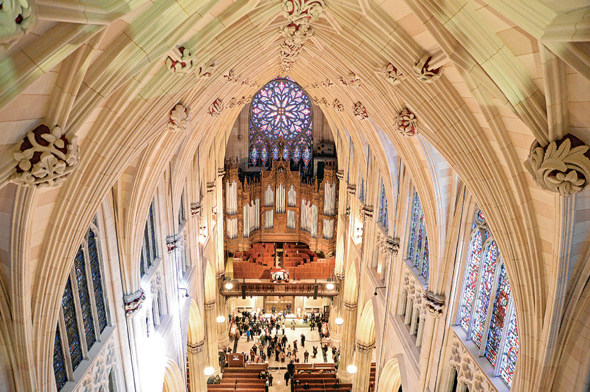 The Restoration Of St Patrick S Cathedral Traditional