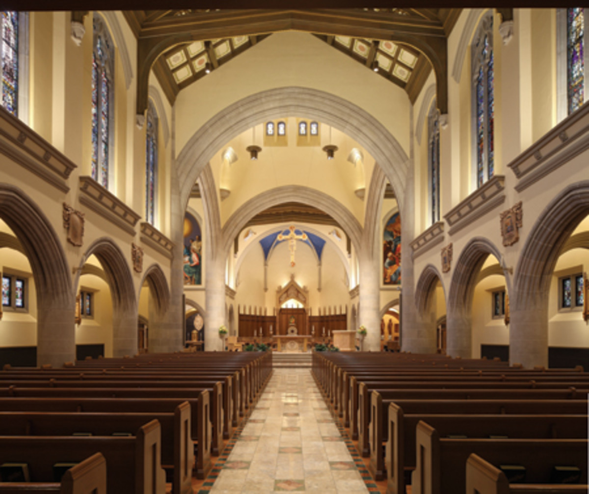 Celli Flynn Brennan Restored A Historic Church Interior