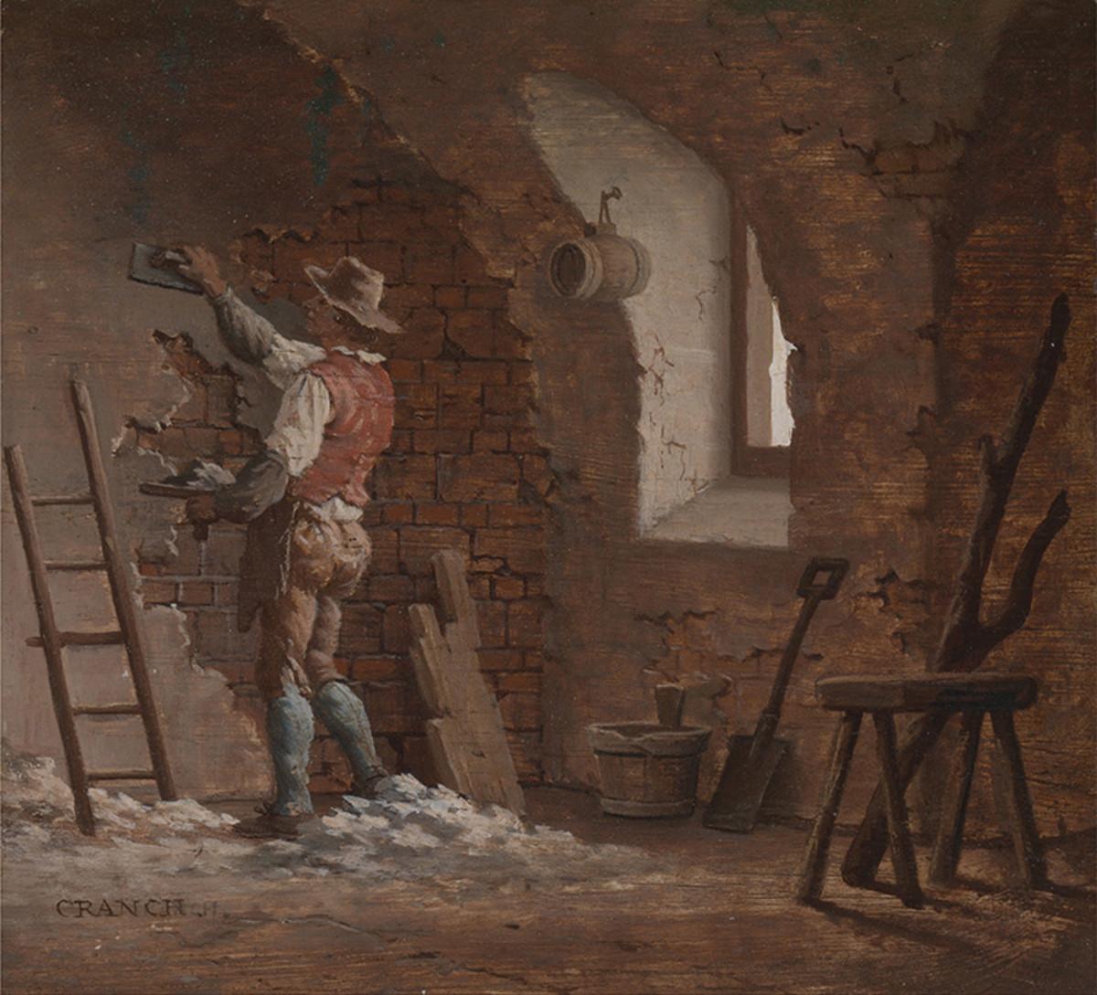 Plasterer, by John Cranch, 1807