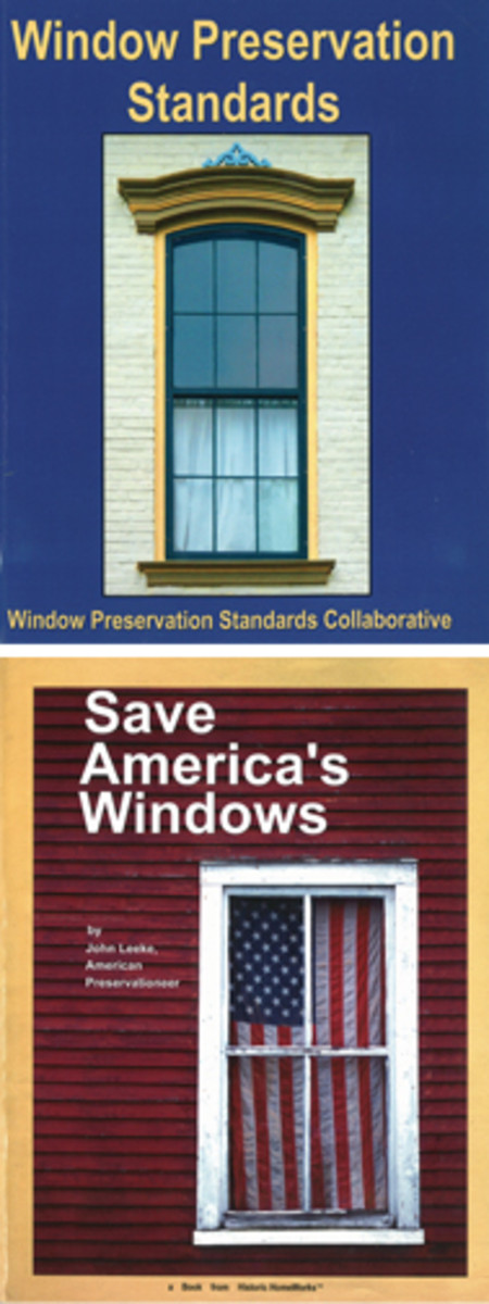 Window Preservation Standards & Save America's Windows