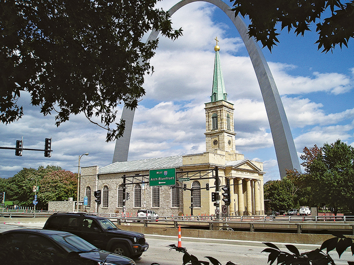 Basilica of St Louis restoration