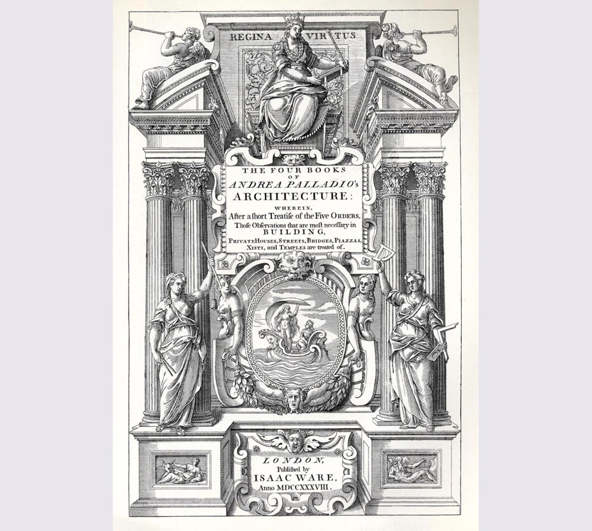 The Four Books of Architecture by Andrea Palladio (MIT, 2002)