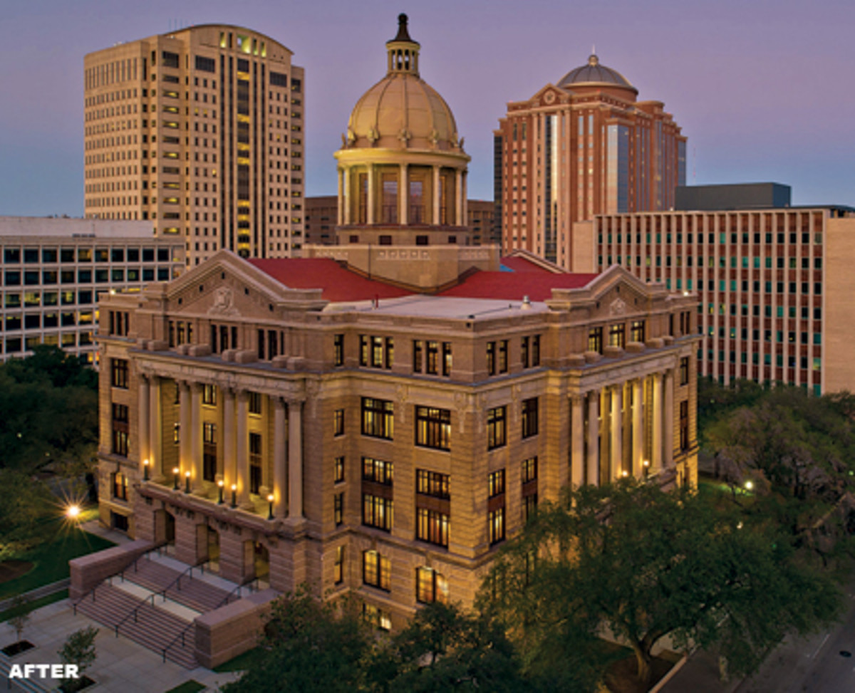 Architexas Revived The Harris County Courthouse