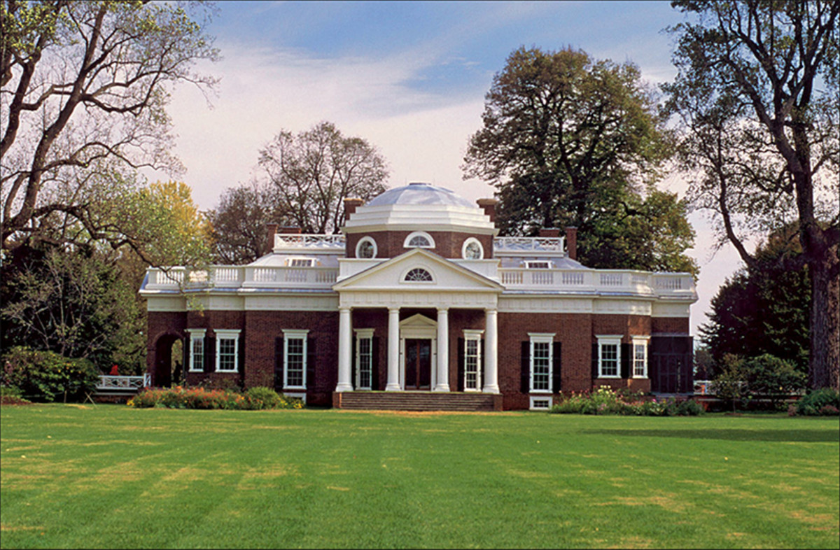 Jefferson And Palladio At Monticello Traditional Building