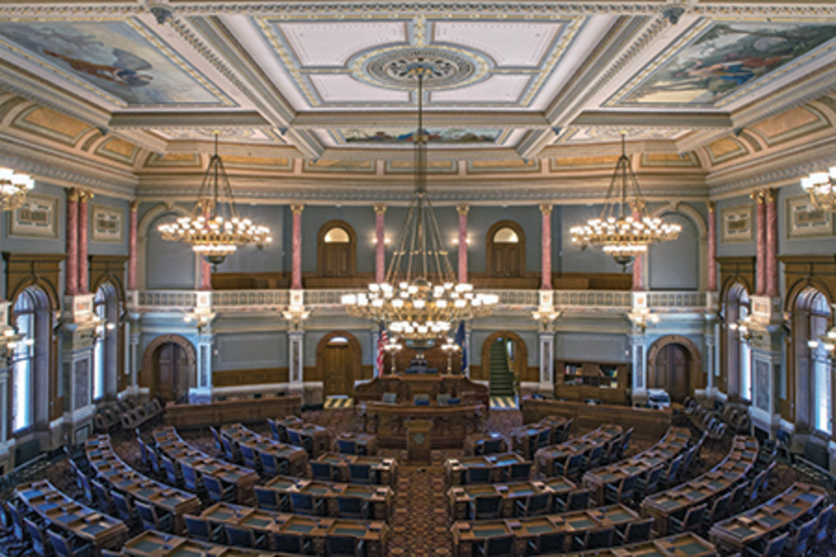 Restoration Of The Kansas Statehouse In Topeka Ks