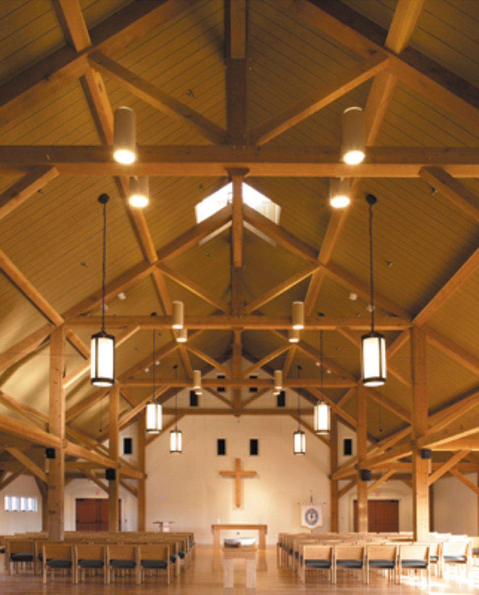 St Peter's Church by John Milner Architects'