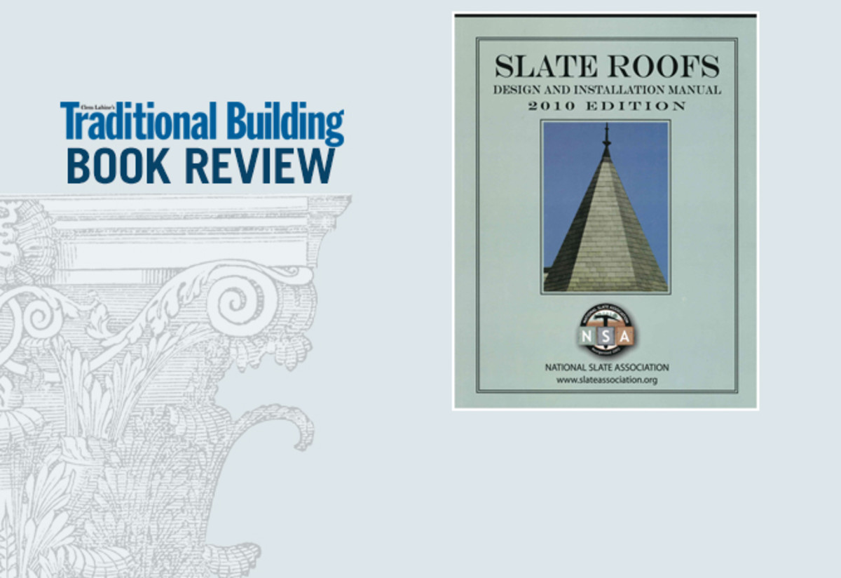 Book Review Slate Roofs Traditional Building
