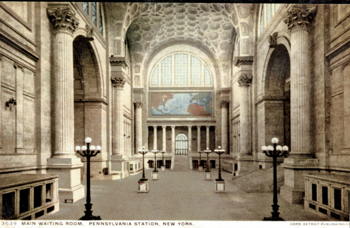 Clem Labine's feature in the April 2015 issue and his blogs on rebuilding Penn Station were very popular.