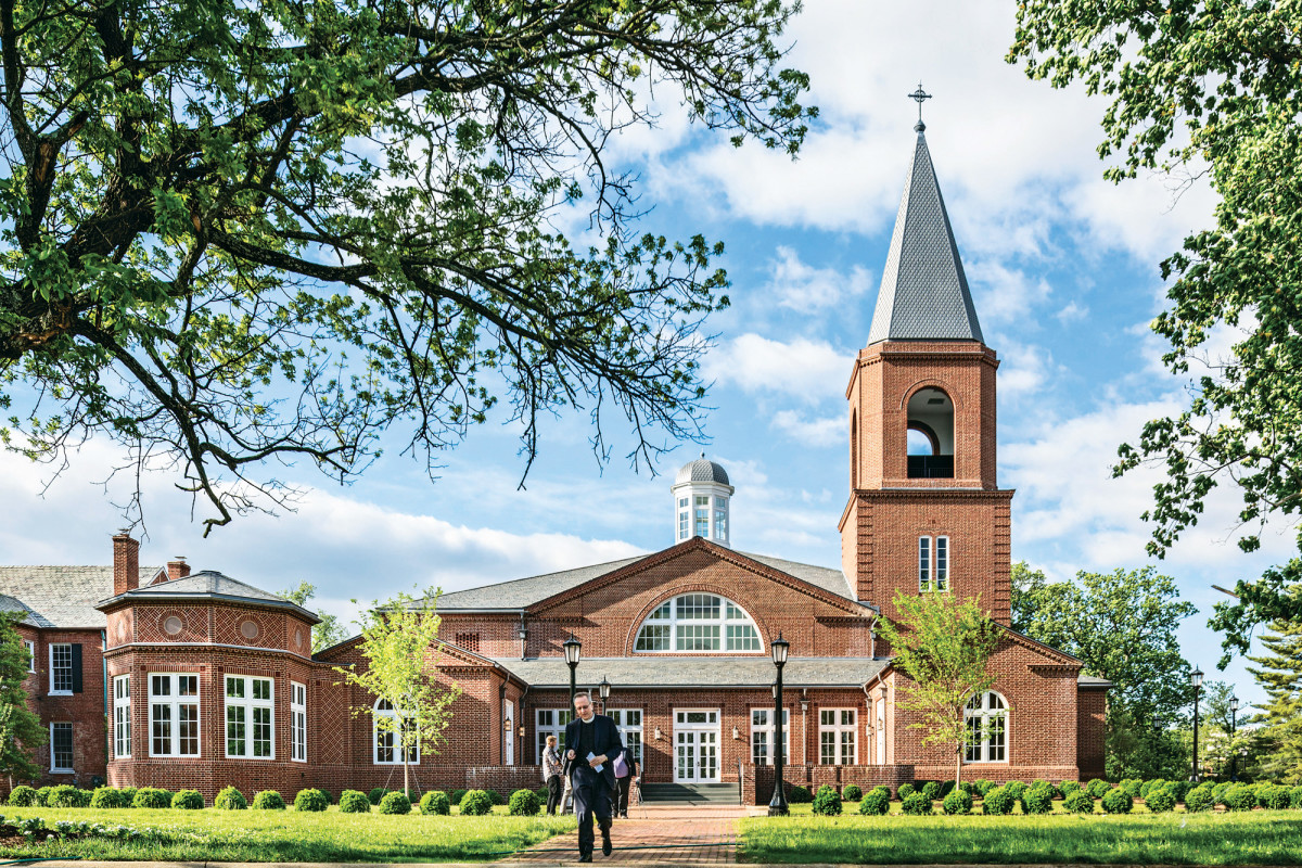 The Immanuel Chapel in Alexandria, VA, was one of six Palladio winners last year.