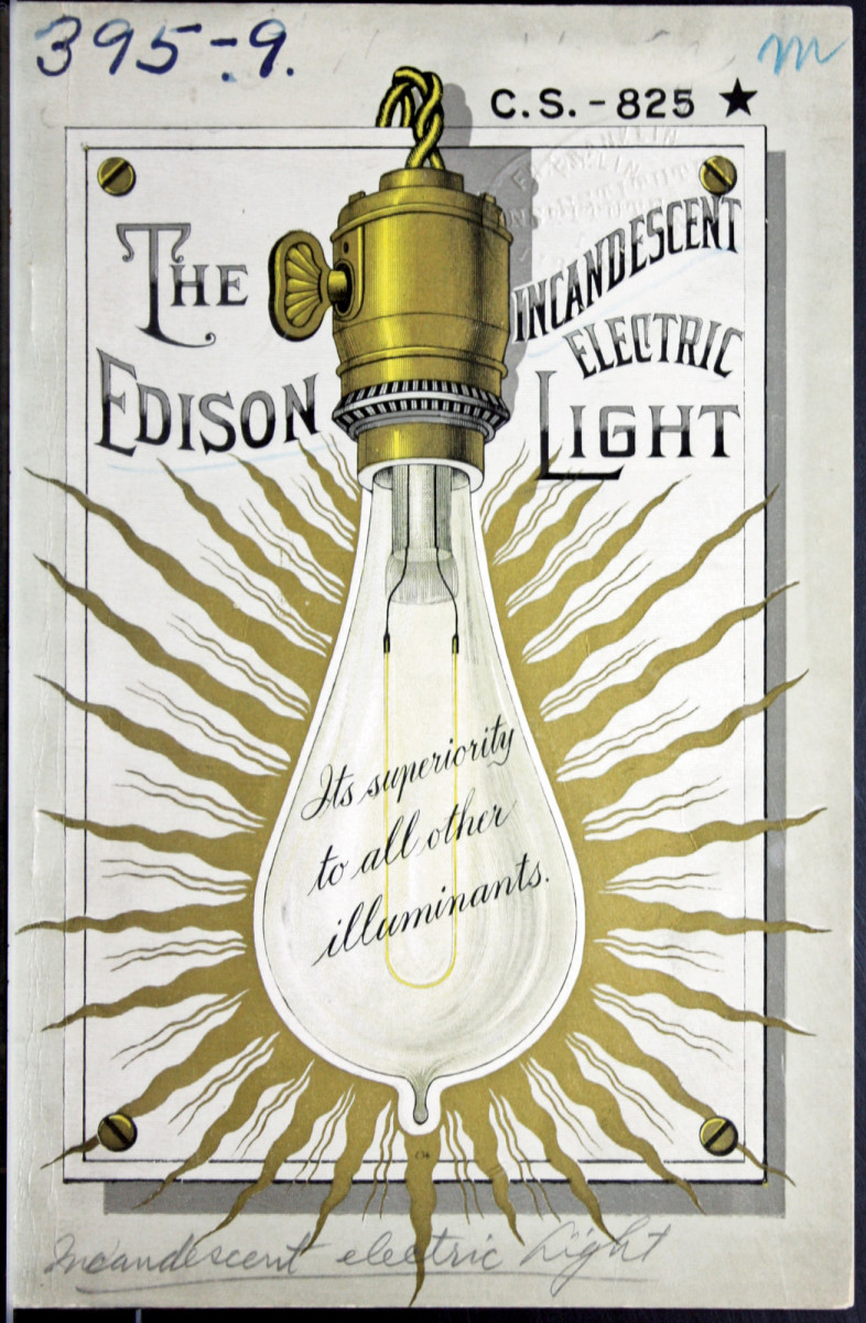 The Incandescent Electric Edison Light