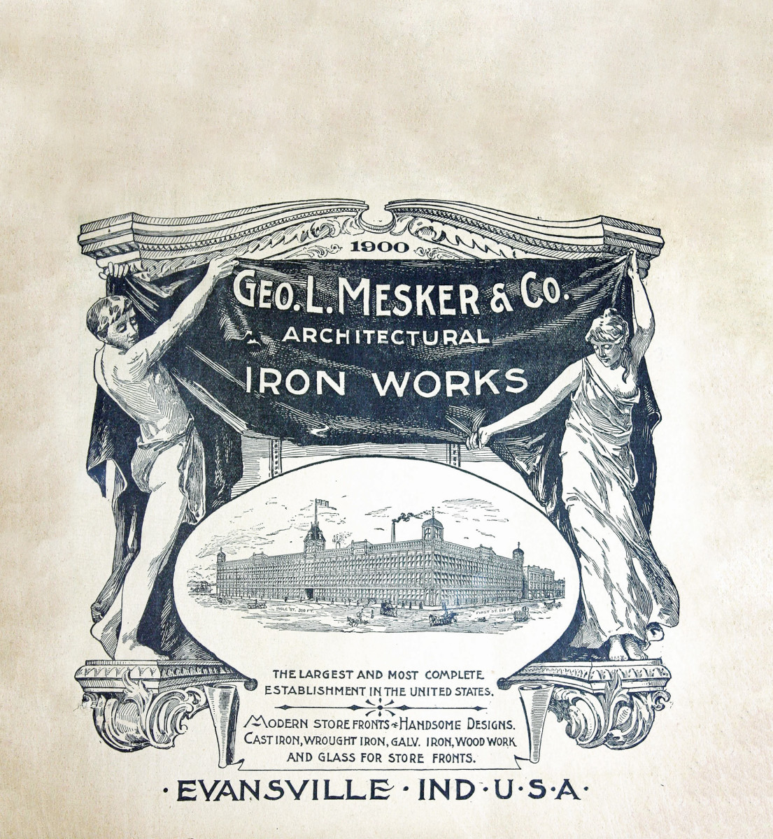 Geo. L. Mesker & Co. Architectural Iron Works