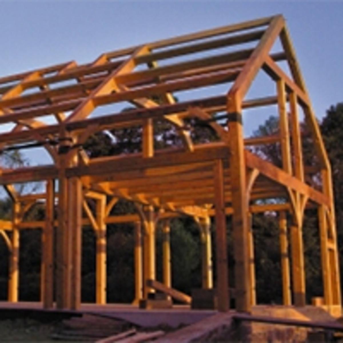 timber framing and barns