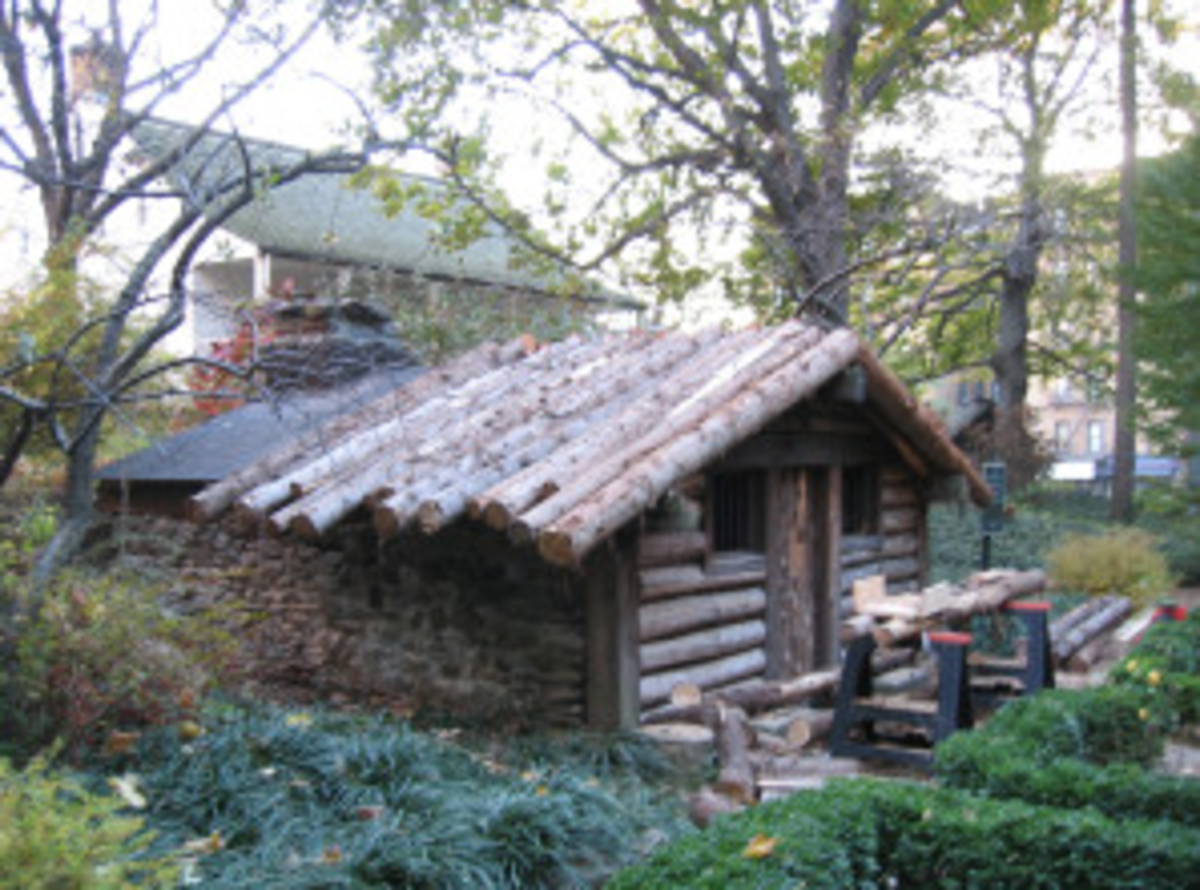 hessian hut