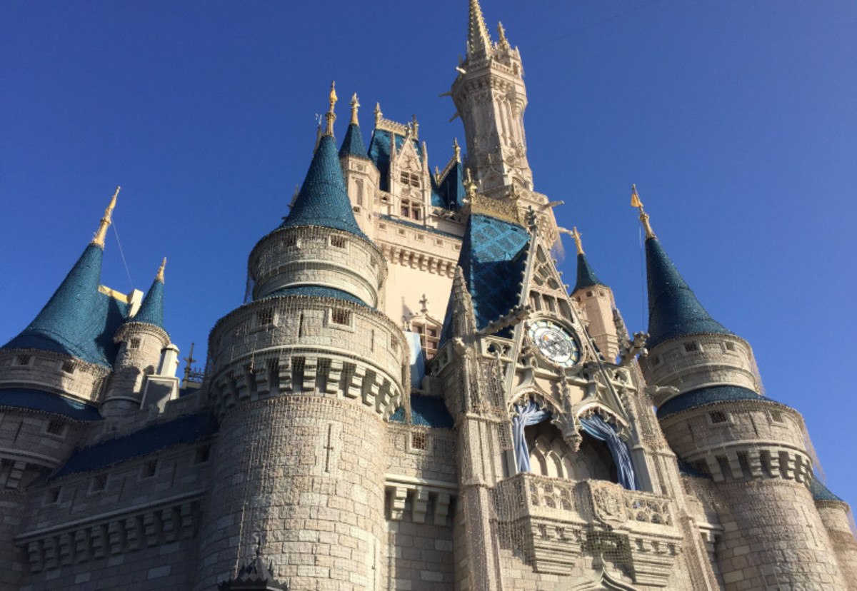 medieval castle at disneyworld