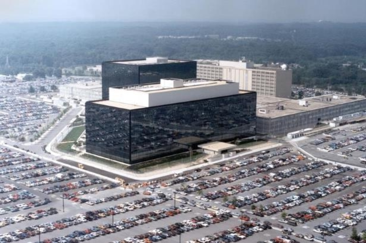Headquarters of the National Security Agency at Fort Meade in suburban, MD. Photo: pressfrom.com