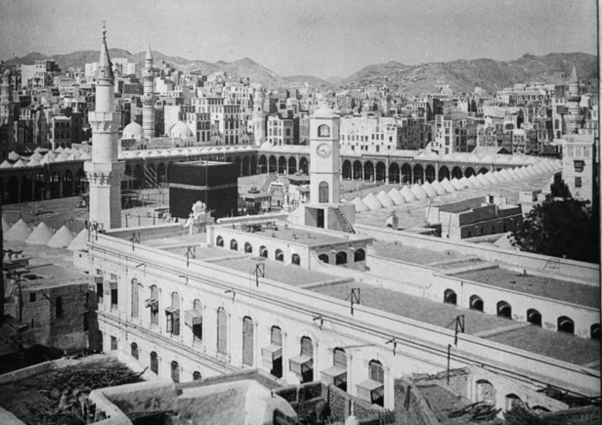 Mecca, Saudi Arabia, in 1951. Photo: mic.com