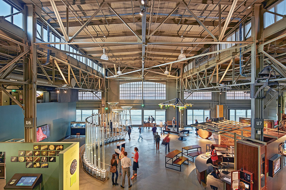 The Exploratorium at Pier 15, historic tax credit
