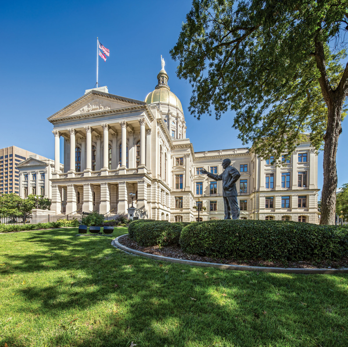 The Long Term Restoration Of Georgia S Capitol