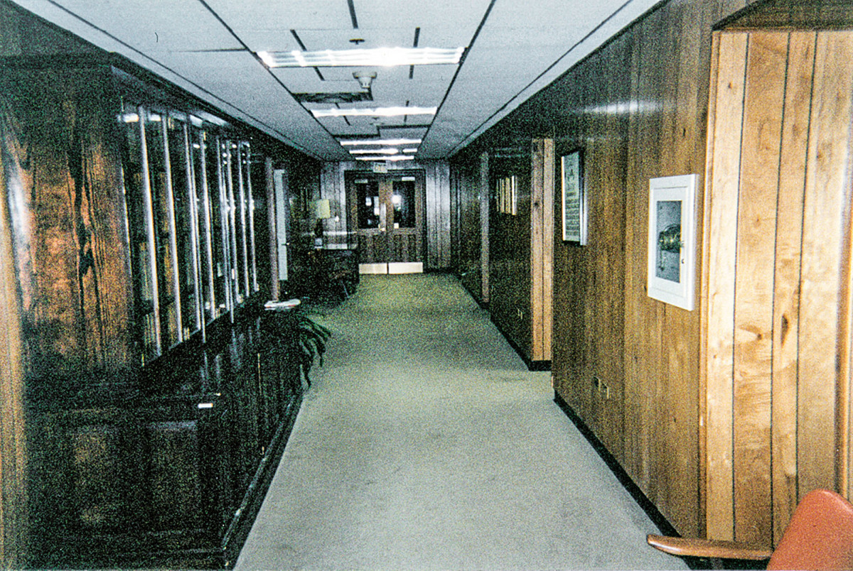 Georgia State Capitol's offices before restoration.