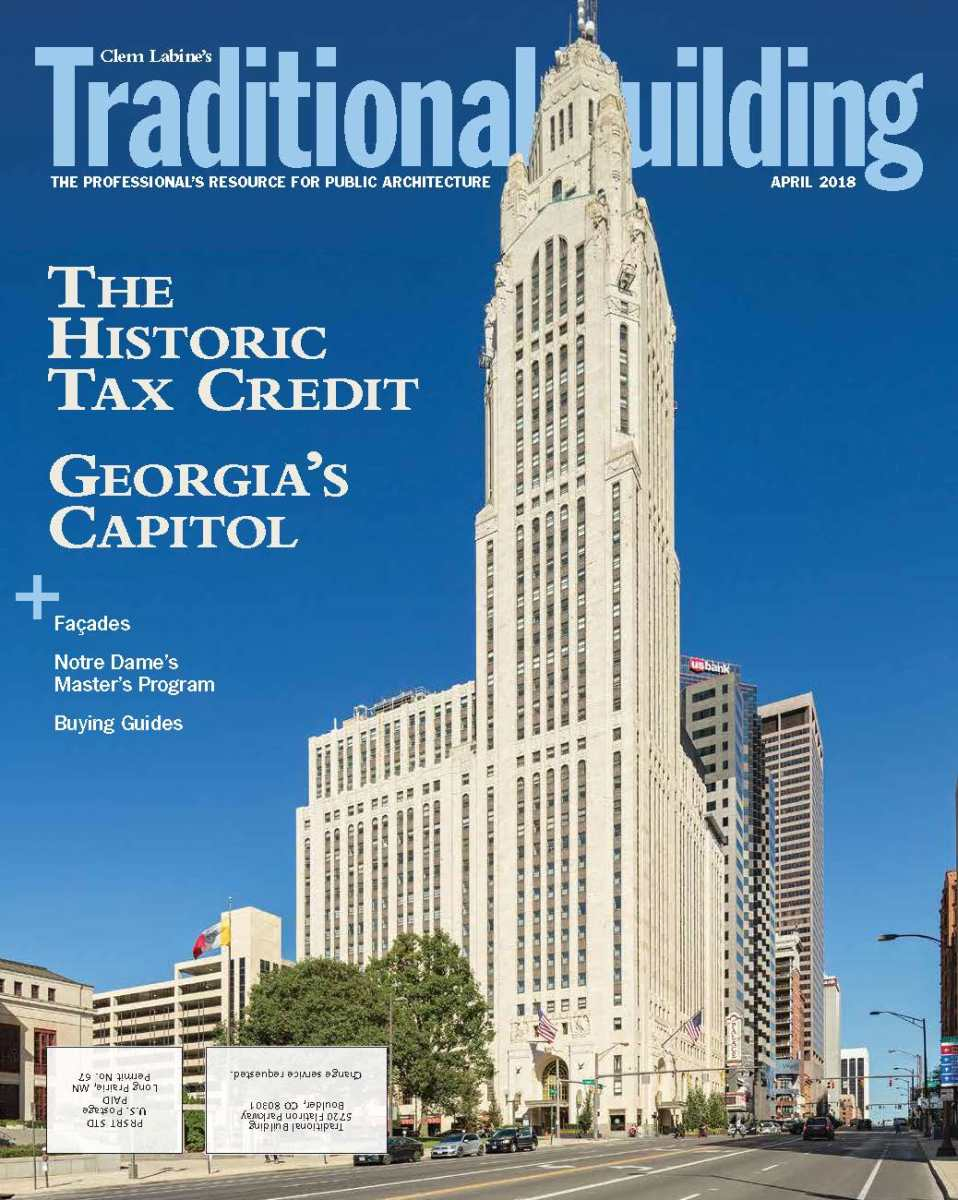 April 2018 issue of Traditional Building