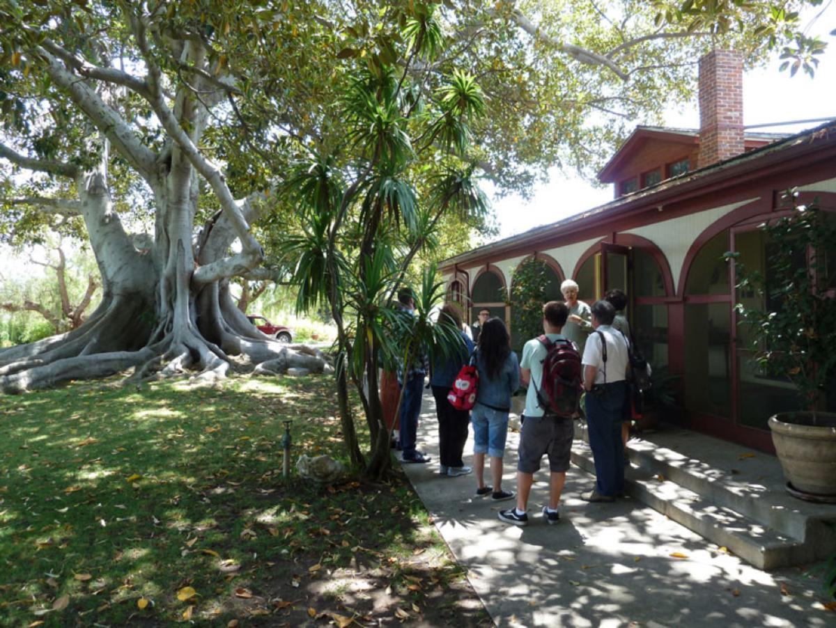 Students at Rancho los Alamitos