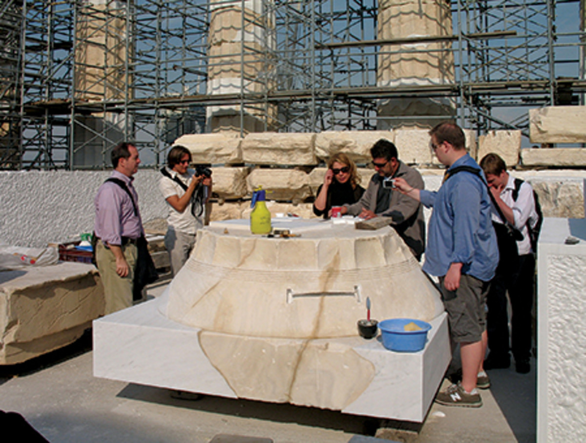 Architecture students make field trips outside of Italy