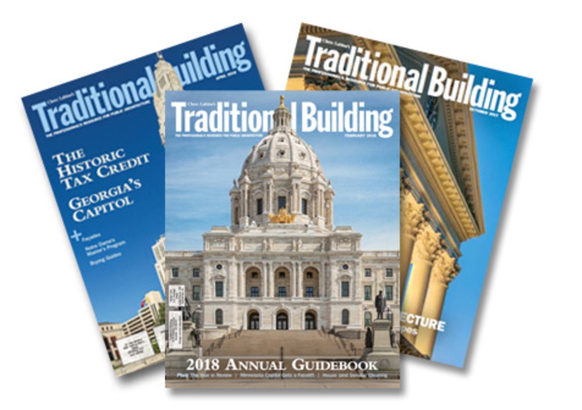traditional building magazine 2018