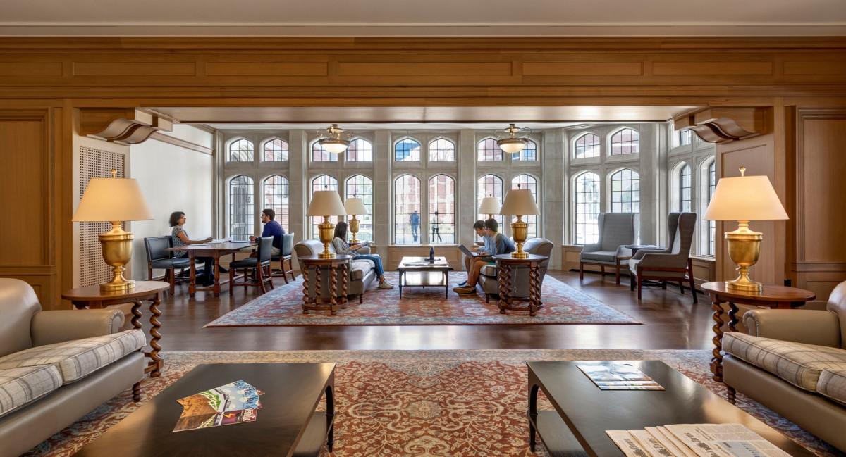 The Millstone Common Room at Benjamin Franklin College