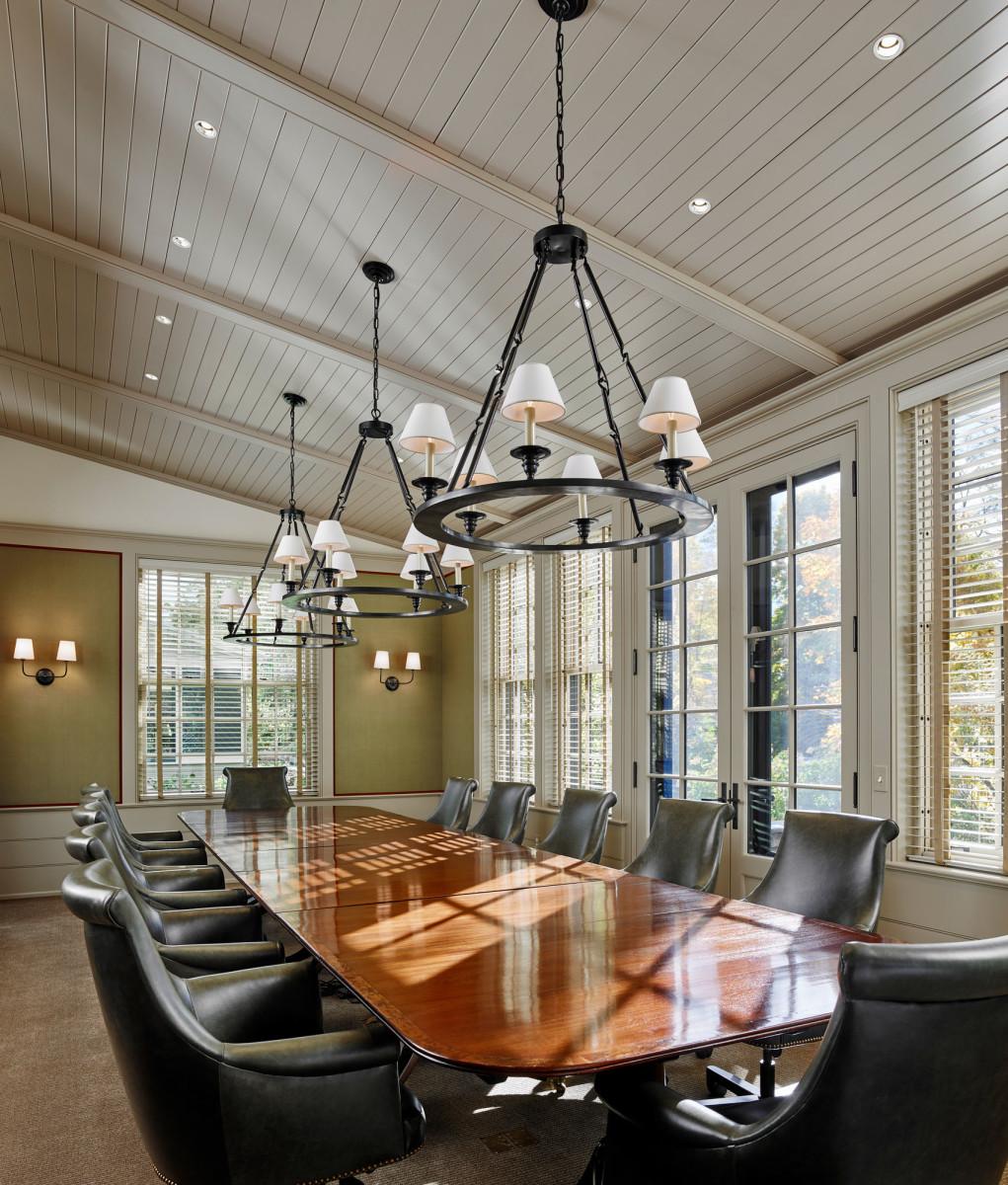 formal conference room