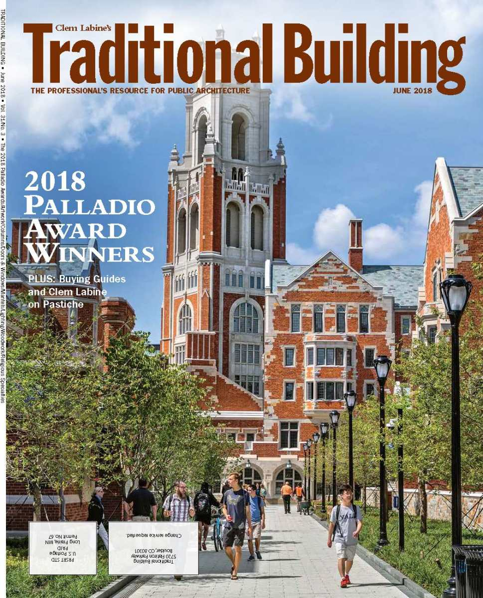 Traditional Building June 2018 issue