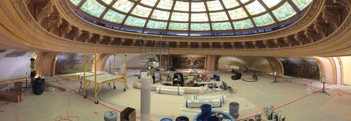 mural restoration preparation