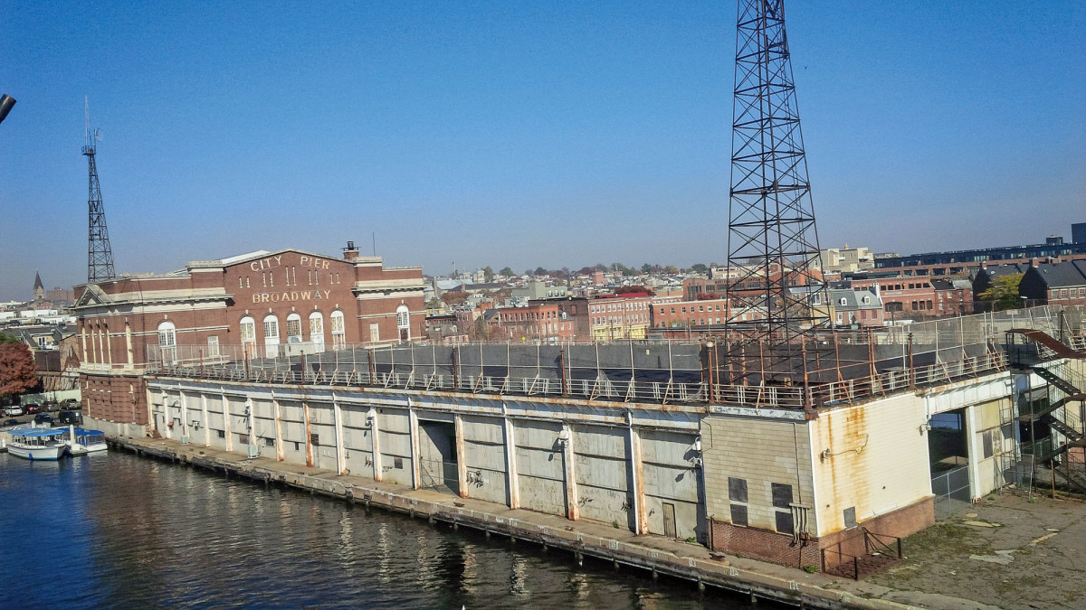 The historic building and pier had stood vacant and in disrepair for 15 years.