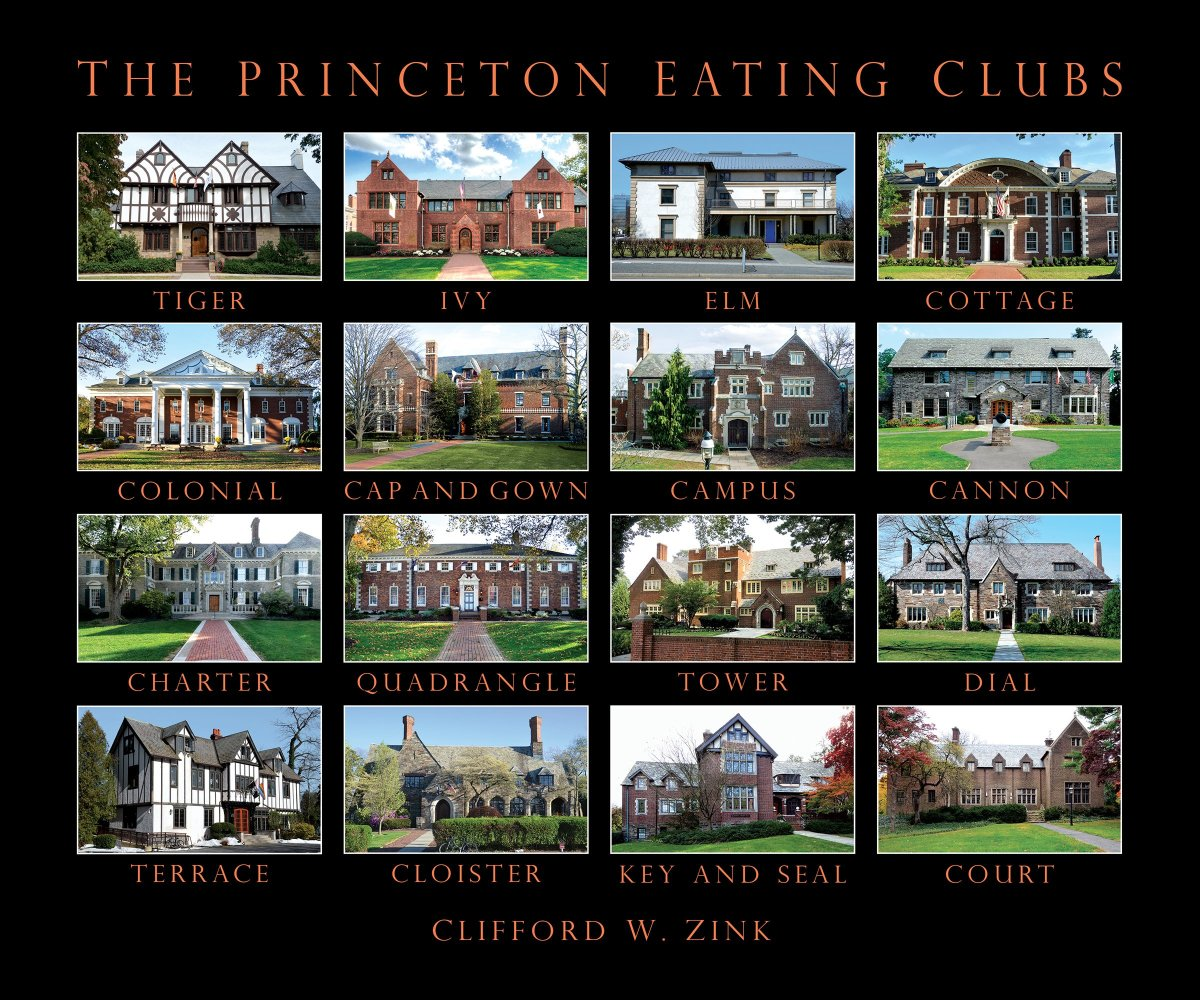 Princeton Eating Clubs, by Clifford W. Zink