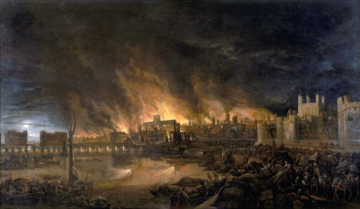 1666 great fire in London