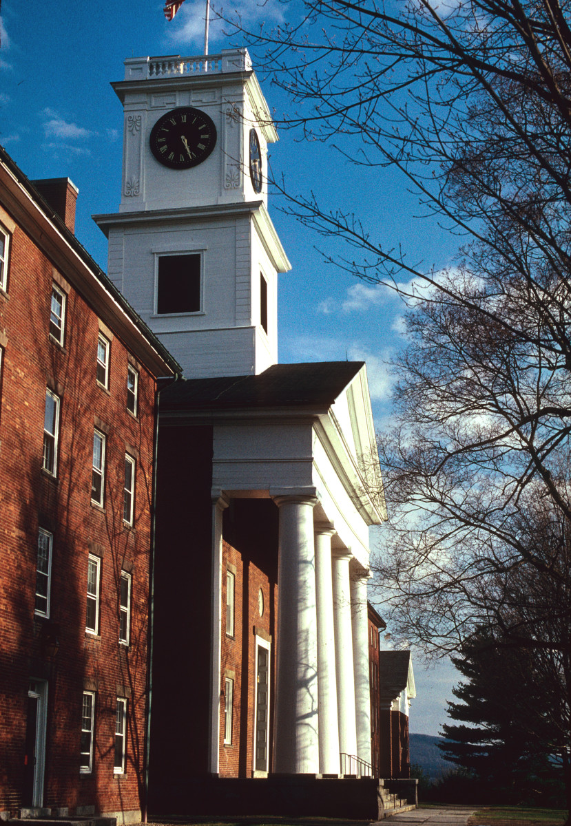Johnson Chapel, Amherst College, Amherst, Massachusetts, 1826 Google  images.