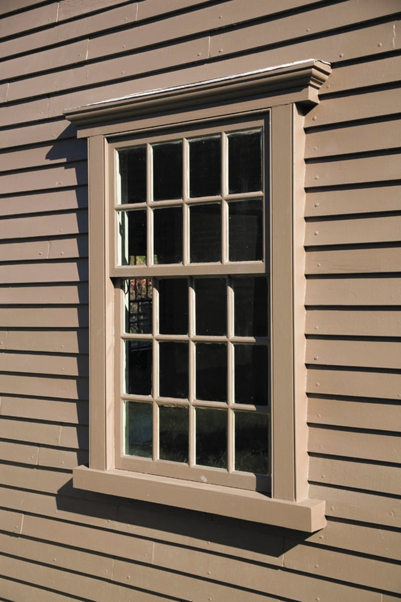 Architectural Components restored the windows for the Jacob Whittemore House at the Minuteman National Historic Park in Lexington, MA.