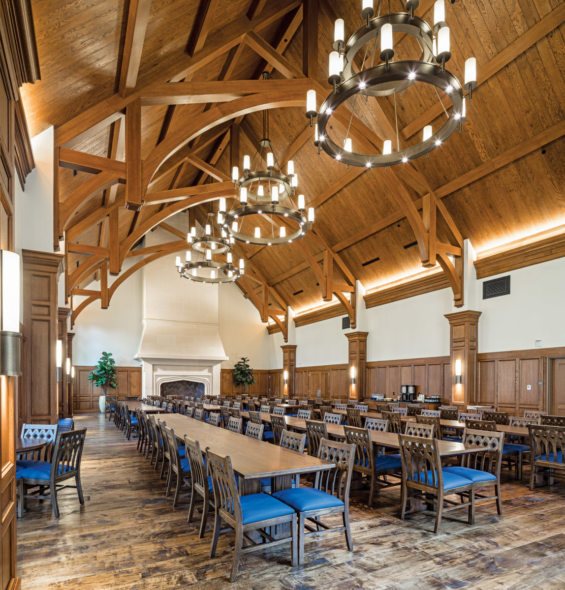 Dunham Dining Hall, Thos. Moser dining tables