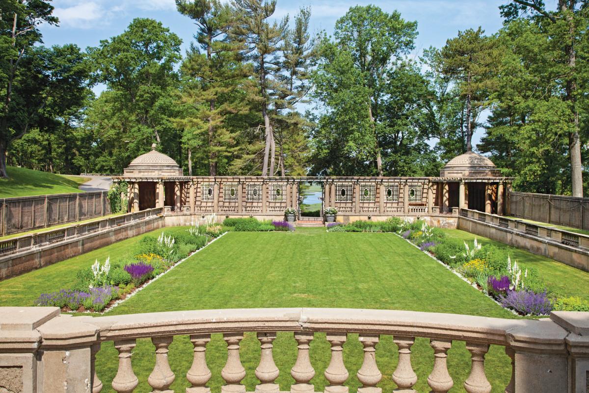 Italian Garden at Castle Hill