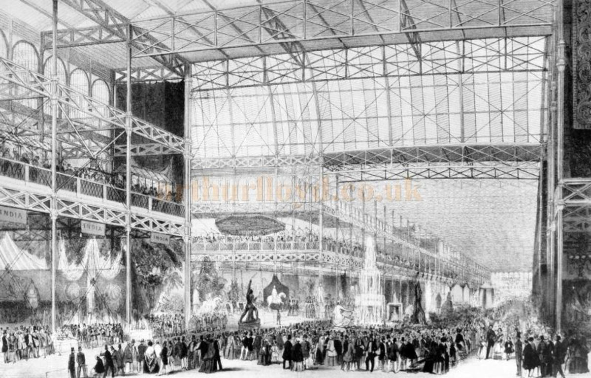 Joseph Paxton, Crystal Palace, London