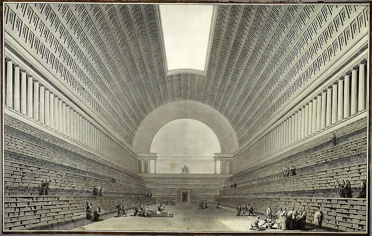 E. L. Boullée, National Library