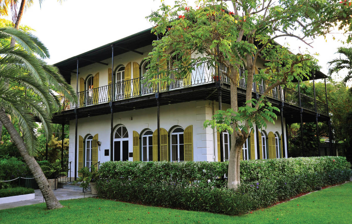 Ernest Hemingway's Key West retreat.