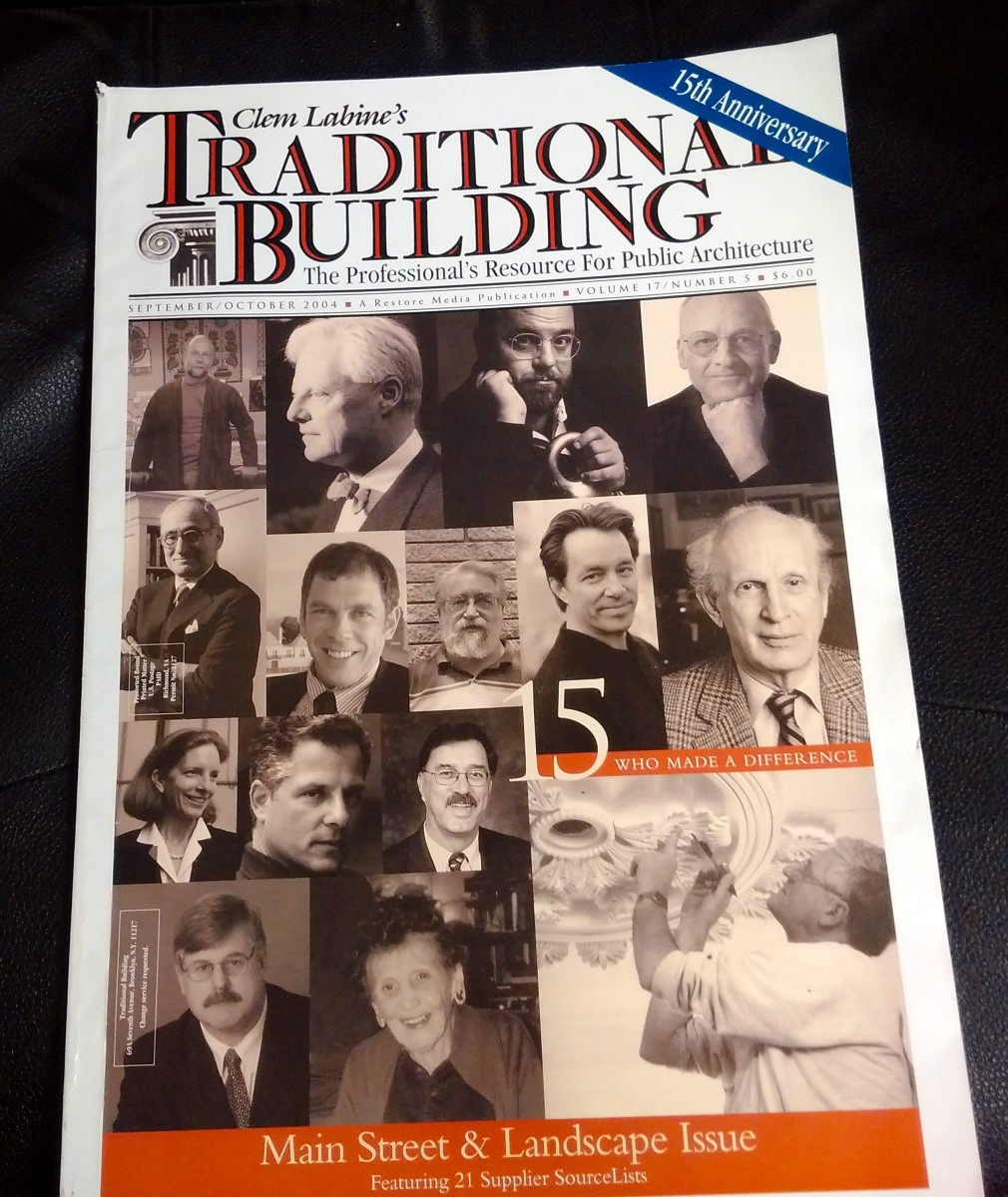 2004 Issue of Traditional Building