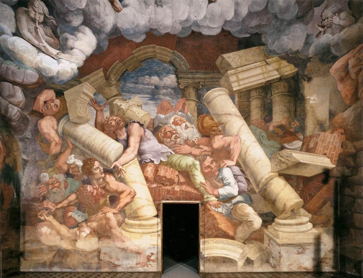 giulio romano fresco painting