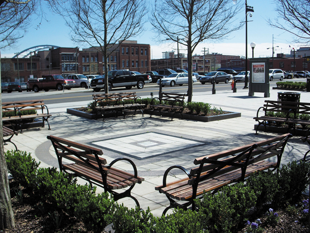 public benches from robinson iron