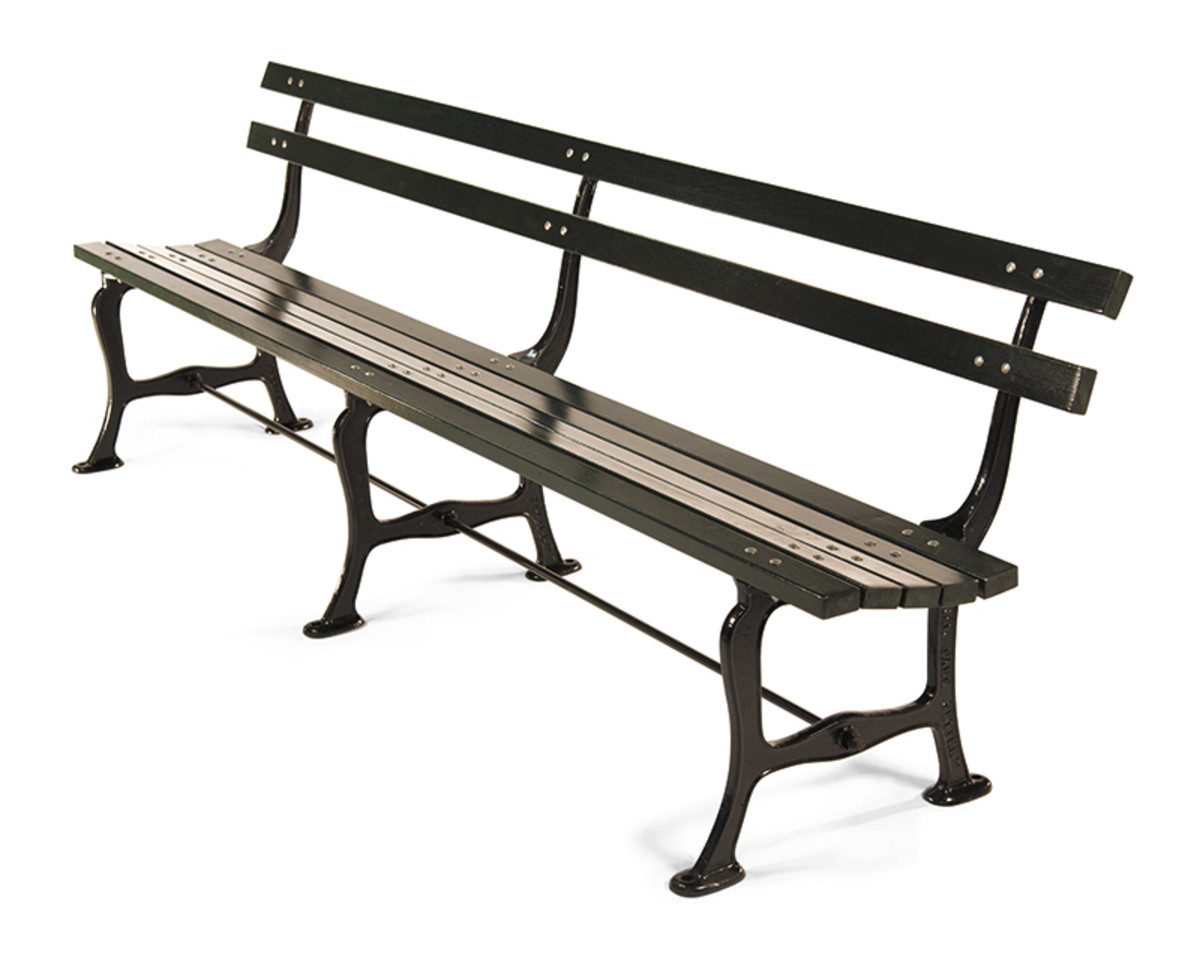 central park style bench